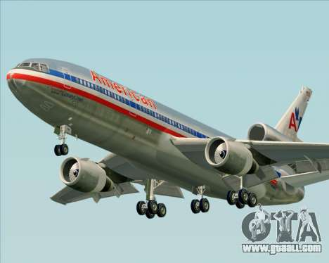 McDonnell Douglas DC-10-30 American Airlines for GTA San Andreas left view