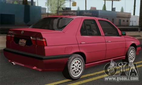 Alfa Romeo 155 Q4 1992 Stock for GTA San Andreas left view