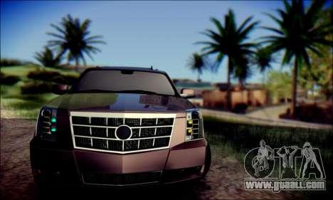 Cadillac Escalade Ninja for GTA San Andreas left view