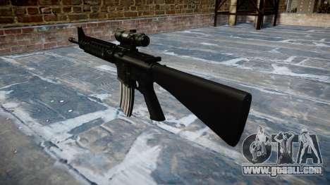 Rifle M16A4 ACOG target for GTA 4 second screenshot