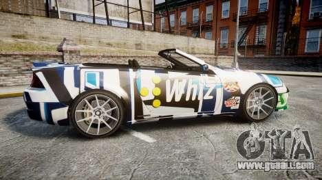 Benefactor Feltzer Grey Series v2 for GTA 4 left view