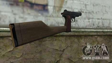 Stechkin Automatic Pistol for GTA San Andreas second screenshot