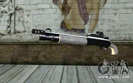 Silver Shotgun for GTA San Andreas