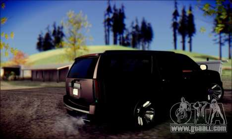 Cadillac Escalade Ninja for GTA San Andreas right view