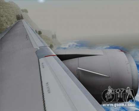 Boeing 767-300ER Qantas (New Colors) for GTA San Andreas engine