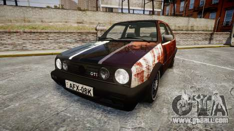 Volkswagen Golf GTI Mk2 Budget Street Cred for GTA 4