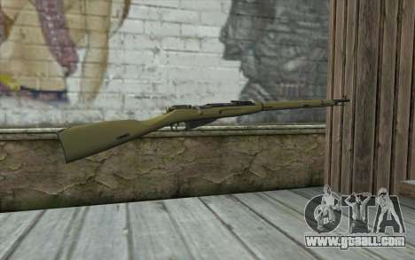 The Mosin-v3 for GTA San Andreas second screenshot