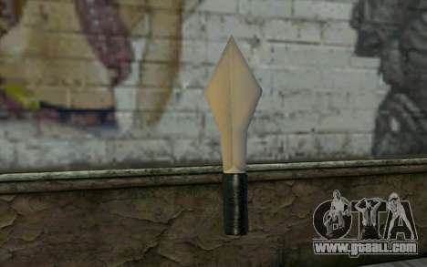Knife from Cutscene for GTA San Andreas second screenshot