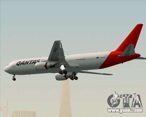 Boeing 767-300F Qantas Freight for GTA San Andreas upper view