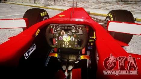 Ferrari 150 Italia Massa for GTA 4 back view