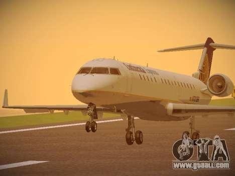 Bombardier CRJ-700 Continental Express for GTA San Andreas