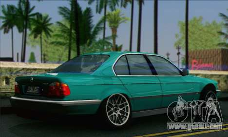 BMW 7-series for GTA San Andreas left view