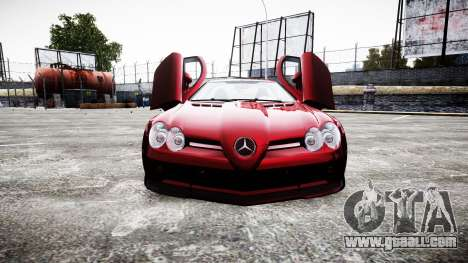 Mercedes-Benz SLR 722 2005 for GTA 4 side view