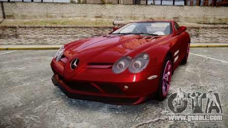Mercedes-Benz SLR 722 2005 for GTA 4
