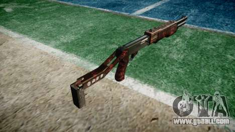 Ружьё Franchi SPAS-12 Art of War for GTA 4 second screenshot