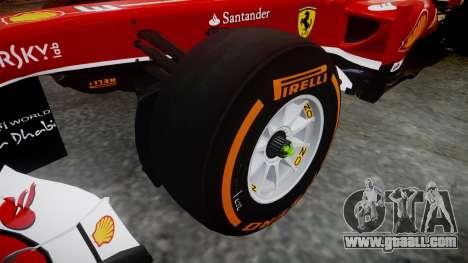 Ferrari F138 v2.0 [RIV] Massa THD for GTA 4 back view