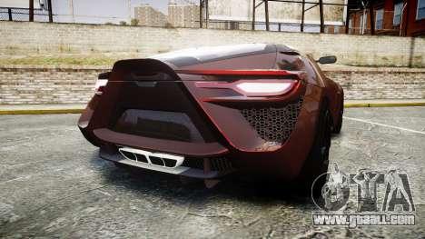 Bertone Mantide 2009 for GTA 4 back left view