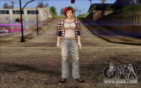 Mila 2Wave from Dead or Alive v10 for GTA San Andreas