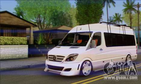 Mercedes-Benz Sprinter Servis for GTA San Andreas