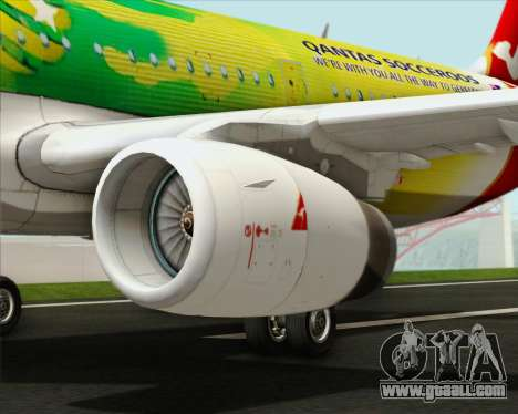 Airbus A321-200 Qantas (Socceroos Livery) for GTA San Andreas engine