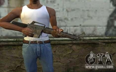 M16A1 from Battlefield: Vietnam for GTA San Andreas third screenshot