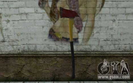 Fire axe (DayZ Standalone) v1 for GTA San Andreas