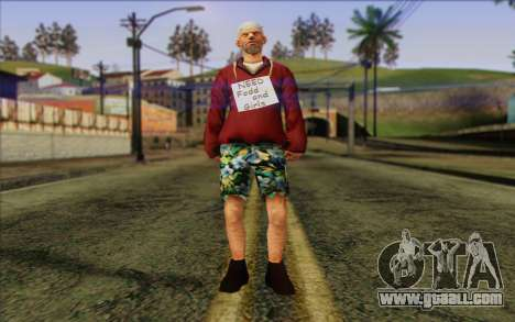 Squad member AI Skin 1 for GTA San Andreas