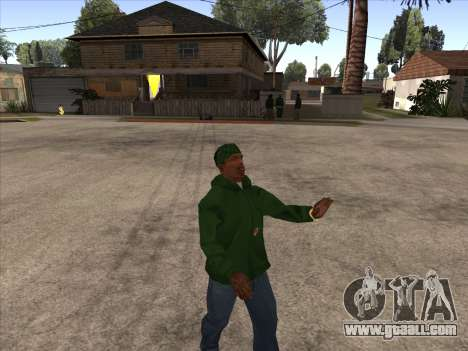 Cleo Walk Style for GTA San Andreas