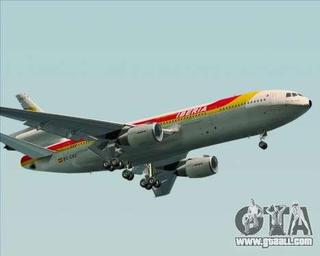 McDonnell Douglas DC-10-30 Iberia for GTA San Andreas wheels