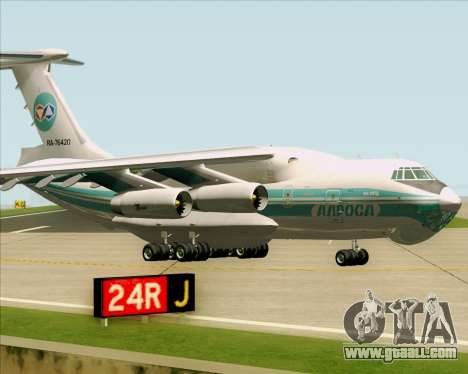 IL-76TD ALROSA for GTA San Andreas left view