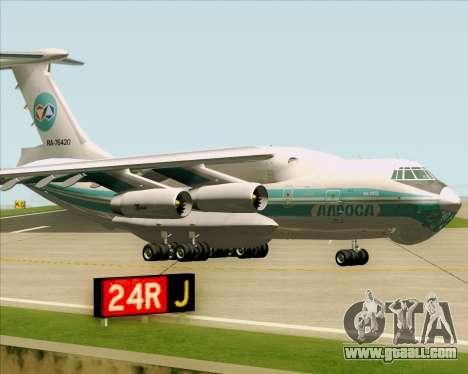 IL-76TD ALROSA for GTA San Andreas left view