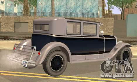 Albany Roosevelt for GTA San Andreas left view
