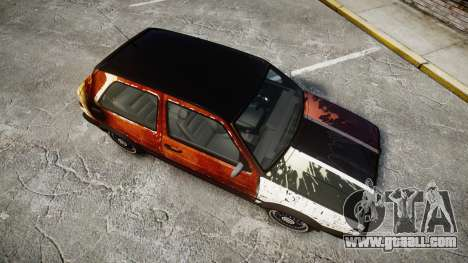 Volkswagen Golf GTI Mk2 Budget Street Cred for GTA 4 right view