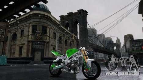 Kawasaki Ninja 636 Stunt for GTA 4 left view