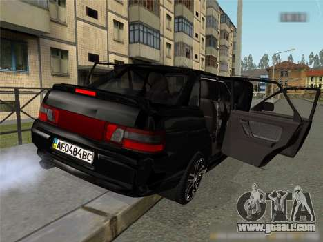 VAZ 2110 XN for GTA San Andreas left view