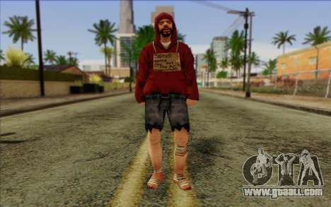 Squad member AI Skin 2 for GTA San Andreas