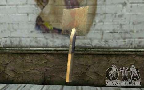 German shovel for GTA San Andreas