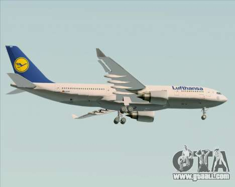 Airbus A330-200 Lufthansa for GTA San Andreas right view