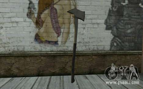 Fire axe (DayZ Standalone) v3 for GTA San Andreas second screenshot