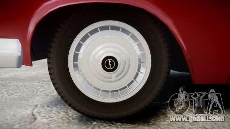 FSO Warszawa Ghia Kombi 1959 for GTA 4 back view