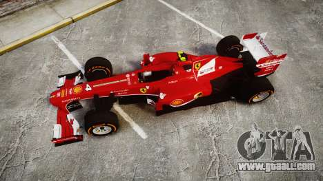 Ferrari F138 v2.0 [RIV] Massa THD for GTA 4 right view