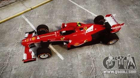 Ferrari F138 v2.0 [RIV] Massa THD for GTA 4 right view