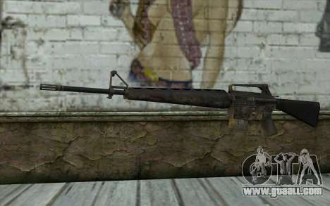 M16A1 from Battlefield: Vietnam for GTA San Andreas