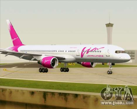 Boeing 757-230 VIM Airlines (VIM) for GTA San Andreas side view