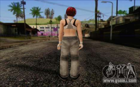 Mila 2Wave from Dead or Alive v11 for GTA San Andreas second screenshot