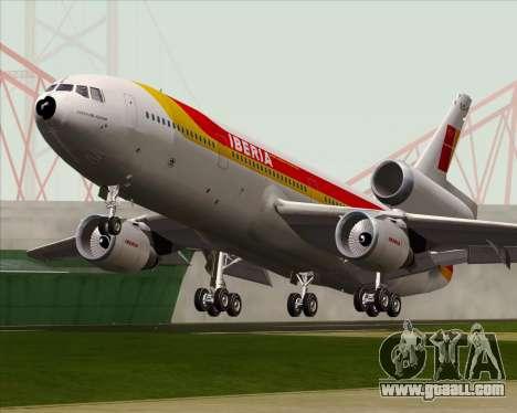 McDonnell Douglas DC-10-30 Iberia for GTA San Andreas inner view