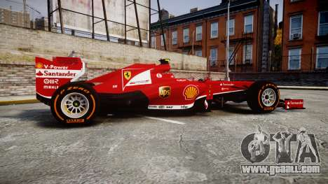 Ferrari F138 v2.0 [RIV] Massa THD for GTA 4 left view