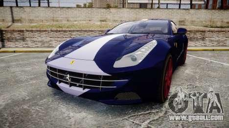 Ferrari FF 2012 Pininfarina Blue for GTA 4