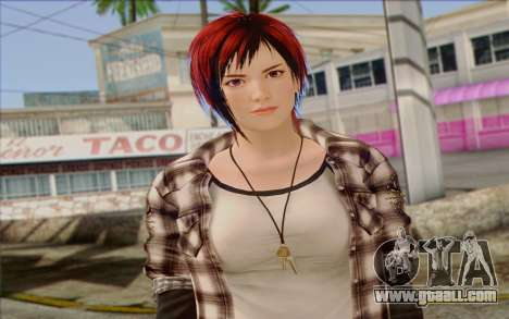 Mila 2Wave from Dead or Alive v10 for GTA San Andreas third screenshot
