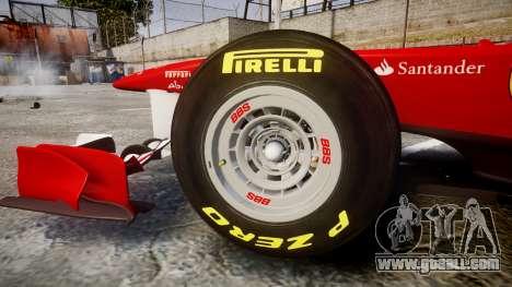 Ferrari 150 Italia Massa for GTA 4 inner view